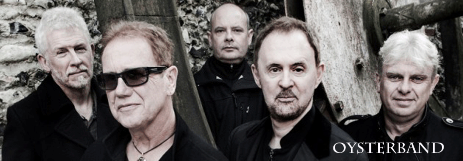 Oysterband-Banner
